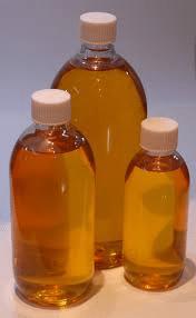 Wodo oil bottles.